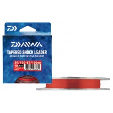 Photos de Bas de ligne Daiwa Arraché Surf Taper Leader Rouge - 15 m