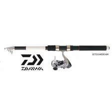 Photos de Ensemble Lancer Télescopique Canne & Moulinet Daiwa Set Lancer