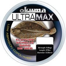 Photos de Fil Nylon Okuma Ultramax Poisson Plat - Orange