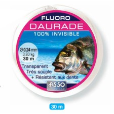 Photos de Fluorocarbone Asso sp. Daurade royale 30m