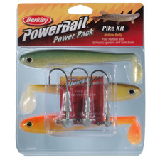 Photos de Leurres Berkley PowerBait Pike Hallow Belly Pro Pack