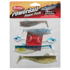 Photos de Leurres Berkley PowerBait Seabass Attraction