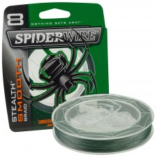 Photos de Tresse Spiderwire Stealth Smooth 8 Moss Green - 1 800 m