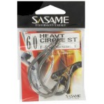 Hameçon Sasame Heavy Circle Black Nickel