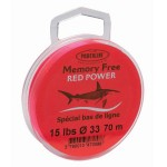 Nylon Powerline Memory Free Rouge - 70 m
