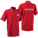 Polo Rouge Manches Courtes Daiwa