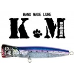 Popper Km Lures Timbre Coulant - 130 mm