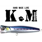 Popper Km Lures Timbre Flottant - 130 mm