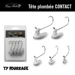 Tête plombée Créa Fishing Contact (TY Fourrage)
