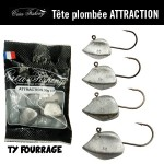Tête plombée Créa Fishing Attraction (TY Fourrage)