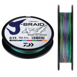 Tresse Daiwa J Braid X4 Multicolore - 300 m