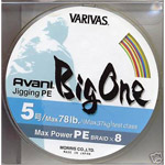 Tresse Varivas BIG ONE Jigging 300m