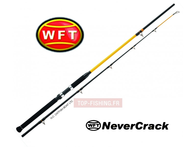 Canne WFT Never Crack Catfish Boat LTC