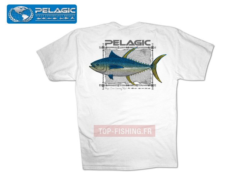 T-Shirt Pelagic OCP Tribal Ahi Tee
