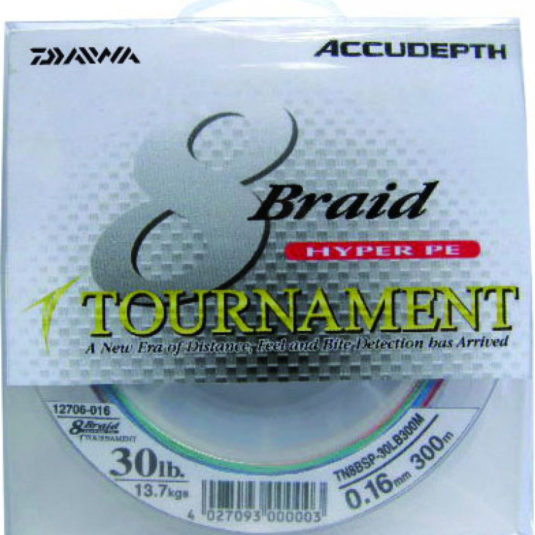 Tournament 8 Braids Daiwa