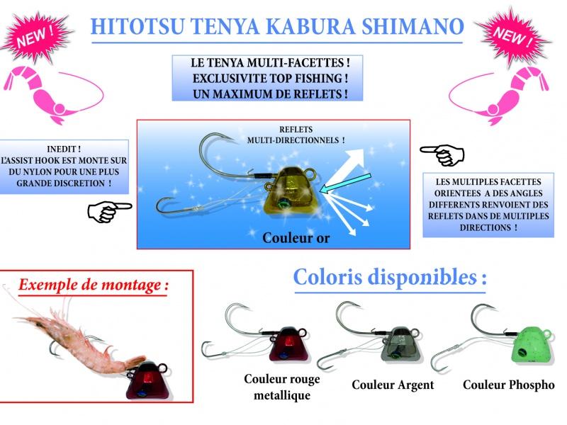 Tenya Rouge Shimano Hitotsu rouge
