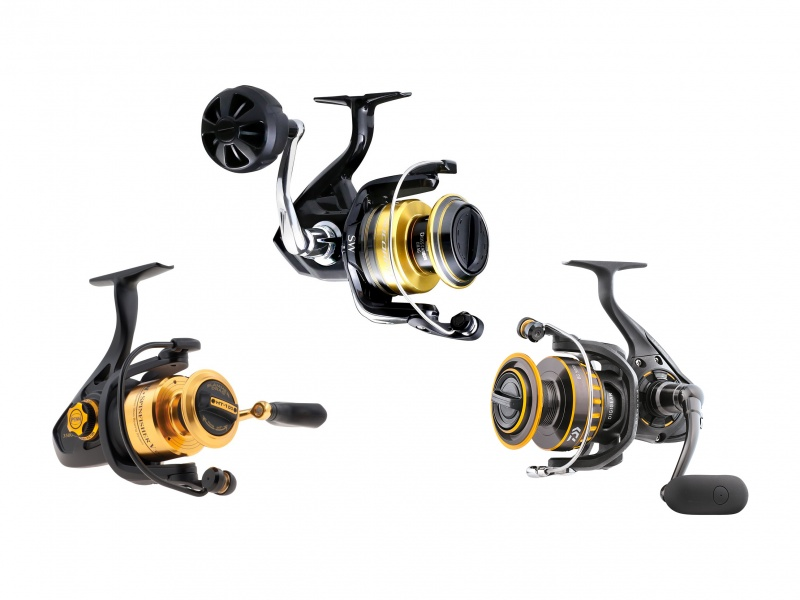 Shimano Socorro SW vs Spinfisher vs Daiwa BG 2016