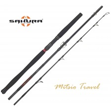 Canne Sakura Mitsio Travel Spinning - 3 Brins