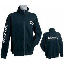 Sweat Shirt Zippé Noir Daiwa