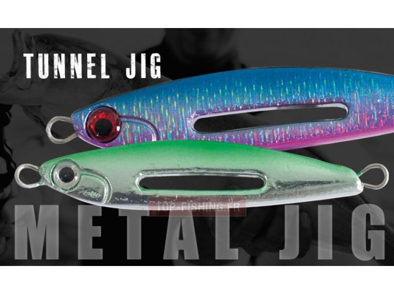 Artificial Spinning Herakles Metal Tunnel Jig 60 GR 8,5 cm Sea Jigging