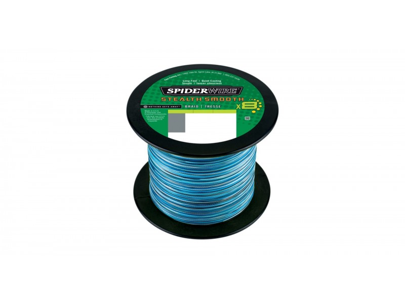 Spiderwire Stealth Smooth 8 Blue Camo 0.14 mm 150 m